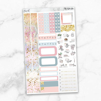 CHILL ZONE Mini Size Planner Sticker Kit-The GP Studio