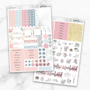 CHILL ZONE Planner Sticker Kit-The GP Studio
