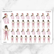 CHRISTMAS GP Girl Planner Stickers-The GP Studio
