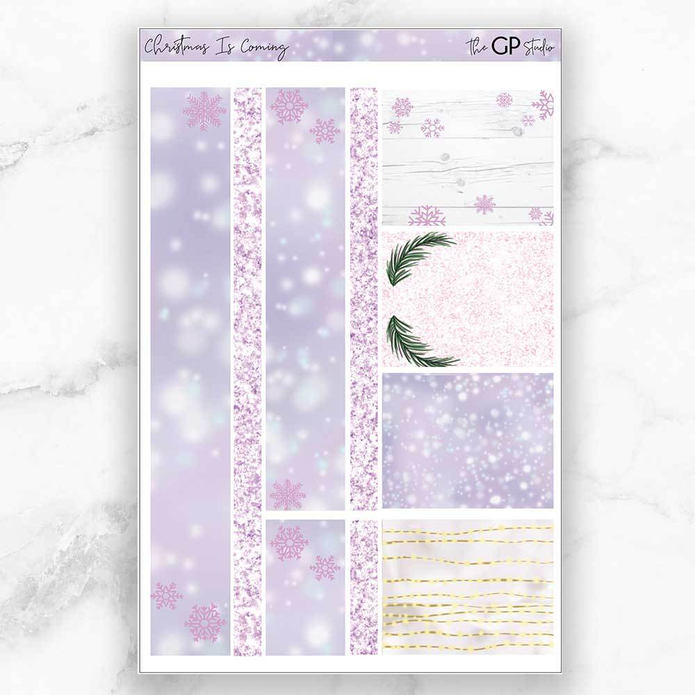 CHRISTMAS IS COMING Washi Sheet Stickers-The GP Studio