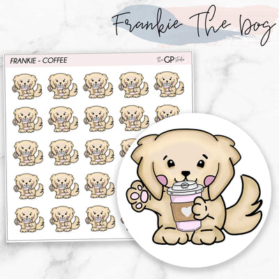 COFFEE FRANKIE Planner Stickers-The GP Studio
