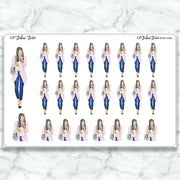 COFFEE RUN GP Girl Planner Stickers-The GP Studio