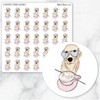 COFFEE TIME GIZMO Planner Stickers-The GP Studio