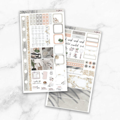COMPLETE BLISS Hobonichi Weekly Size Planner Sticker Kit-The GP Studio