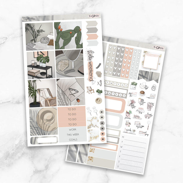 COMPLETE BLISS Mini Size Planner Sticker Kit-The GP Studio