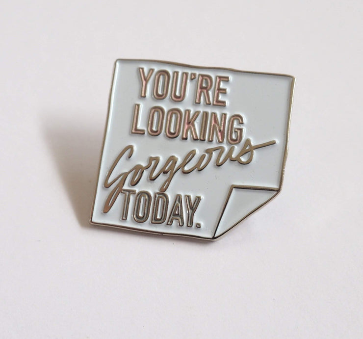 COMPLIMENT ENAMEL PIN-The GP Studio