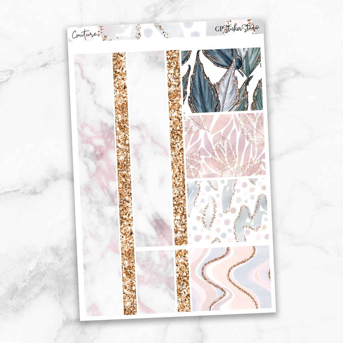 COUTURE Washi Sheet Stickers-The GP Studio