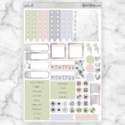 DELICATE Functional Planner Sticker Kit-The GP Studio