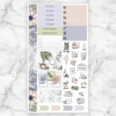 DELICATE Personal Size Planner Sticker Kit-The GP Studio
