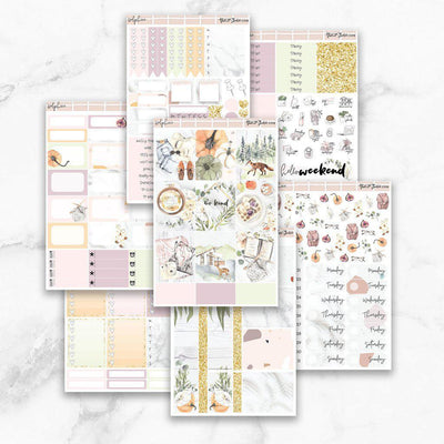 DELPHINE Deco & Date Cover Stickers-The GP Studio