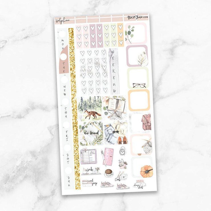 DELPHINE Hobonichi Weekly Size Planner Sticker Kit-The GP Studio