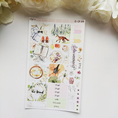 DELPHINE Mini Size Planner Sticker Kit-The GP Studio