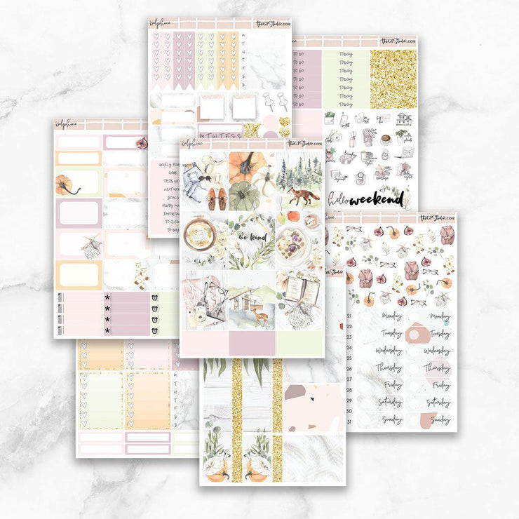 DELPHINE Planner Sticker Kit-The GP Studio