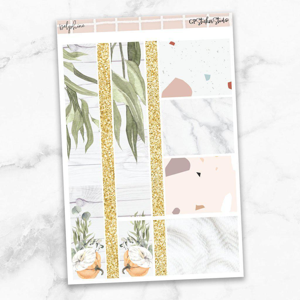DELPHINE Washi Sheet Stickers-The GP Studio