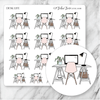 DESK Icon Planner Stickers-The GP Studio