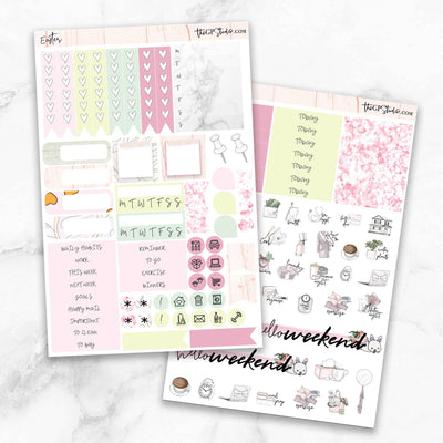 EASTER Planner Sticker Kit-The GP Studio