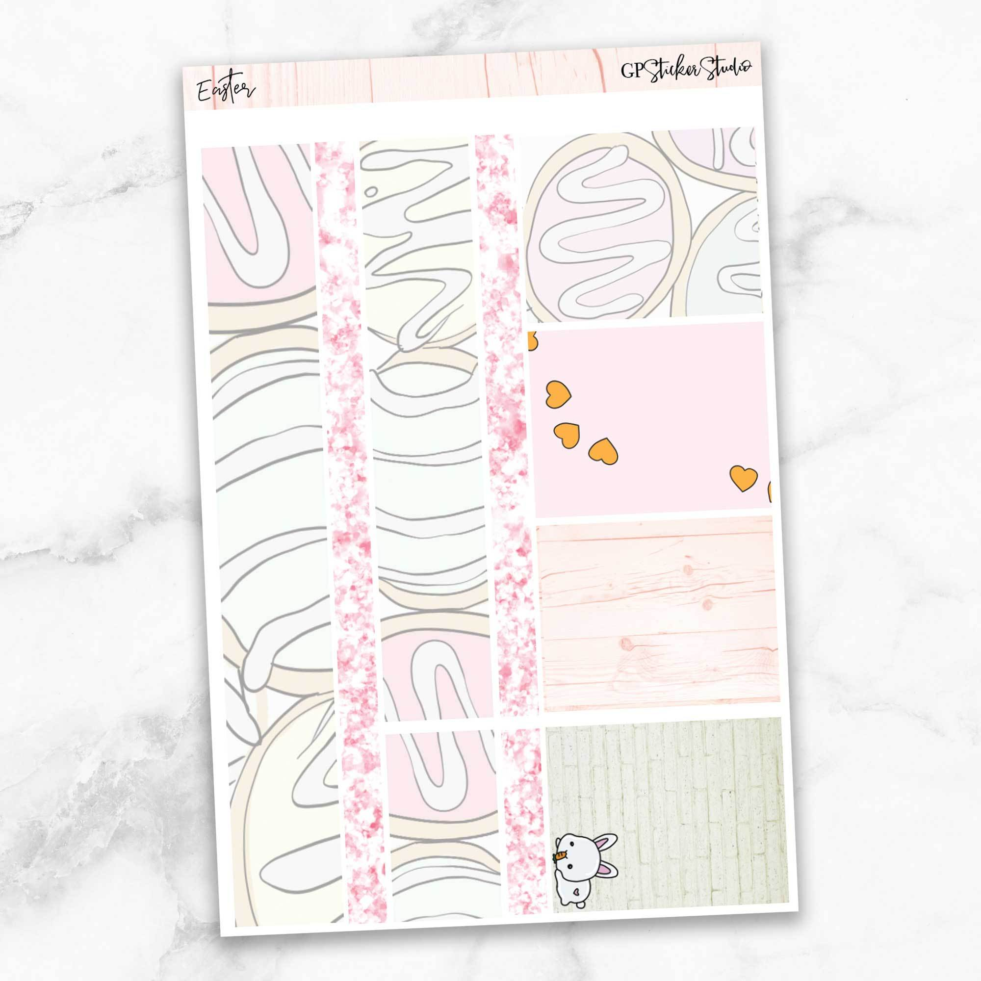 EASTER Washi Sheet Stickers-The GP Studio