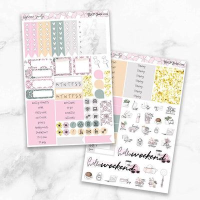 ESPRESSO SOCIETY Functional Planner Sticker Kit-The GP Studio