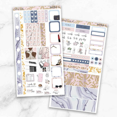 FASHION WEEK Hobonichi Weekly Size Planner Sticker Kit-The GP Studio
