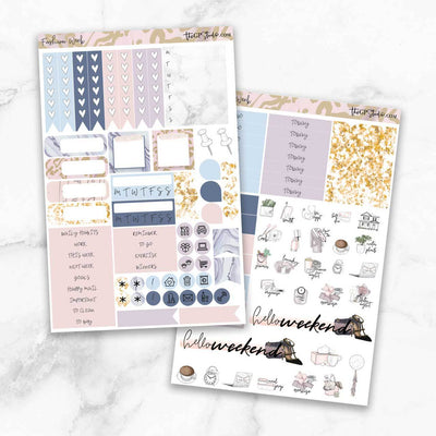 FASHION WEEK Planner Sticker Kit-The GP Studio