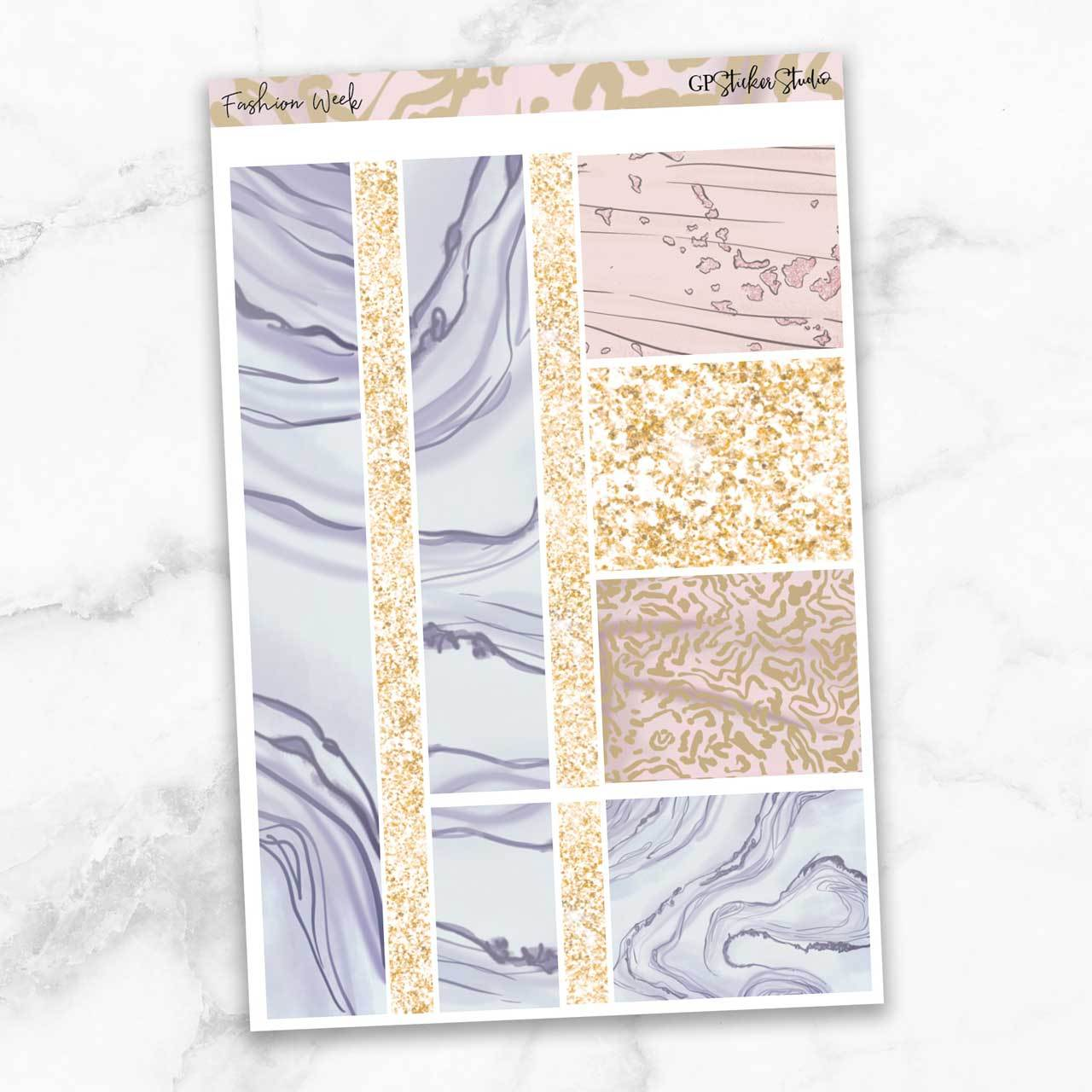 FASHION WEEK Washi Sheet Stickers-The GP Studio