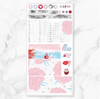 FEBRUARY 2020 MONTHLY Sticker Kit Hobonichi Week's Size-The GP Studio