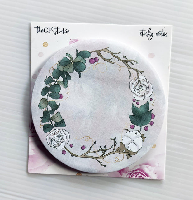 FEMME FLORAL STICKY NOTES-The GP Studio