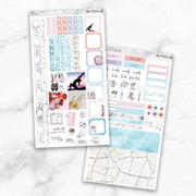 FITNESS Hobonichi Weekly Size Planner Sticker Kit-The GP Studio