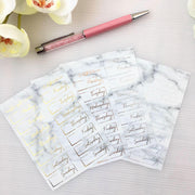 FOIL DATE COVERS in Marble Pattern-The GP Studio
