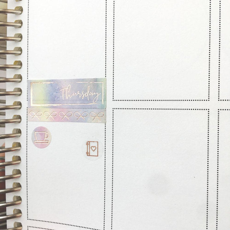 FOIL DATE COVERS in Sorbet Dreams-The GP Studio