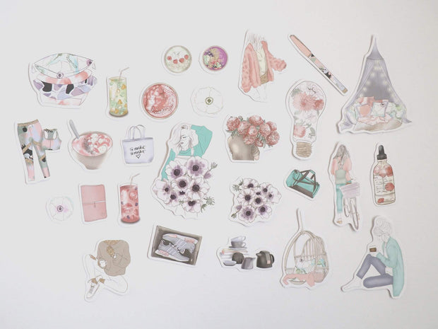 FRESH START SET OF DIE CUTS-The GP Studio