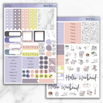 GALAXY Functional Planner Sticker Kit-The GP Studio