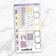 GALAXY Hobonichi Weekly Size Planner Sticker Kit-The GP Studio
