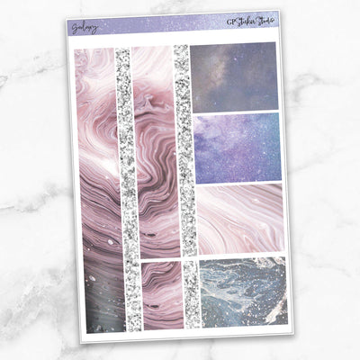 GALAXY Washi Sheet Stickers-The GP Studio