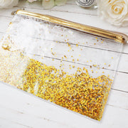GOLD GLITTER POUCH/PENCILCASE-The GP Studio