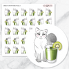 GREEN SMOOTHIE PELLA Planner Stickers-The GP Studio