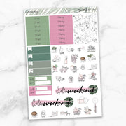 GREENERY Functional Planner Sticker Kit-The GP Studio