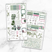 GREENERY Hobonichi Weekly Size Planner Sticker Kit-The GP Studio