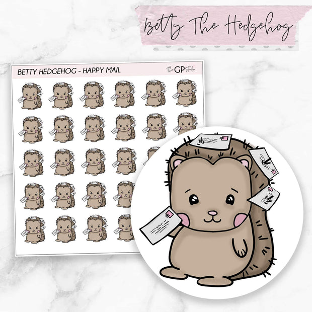 HAPPY MAIL BETTY Planner Stickers-The GP Studio