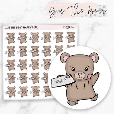 HAPPY MAIL GUS Planner Stickers-The GP Studio