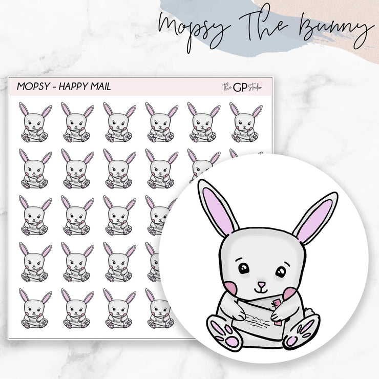 HAPPY MAIL MOPSY Planner Stickers-The GP Studio