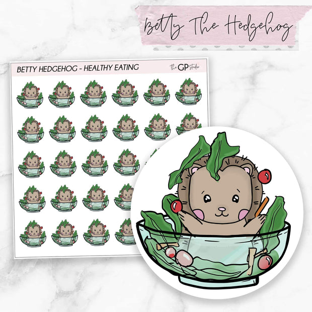 HEALTHY EATING BETTY Planner Stickers-The GP Studio