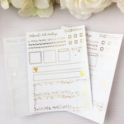 HOBONICHI WEEK'S Clear Foil Overlay Kit-The GP Studio