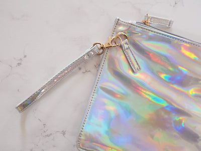 HOLOGRAPHIC POUCH/PENCILCASE-The GP Studio