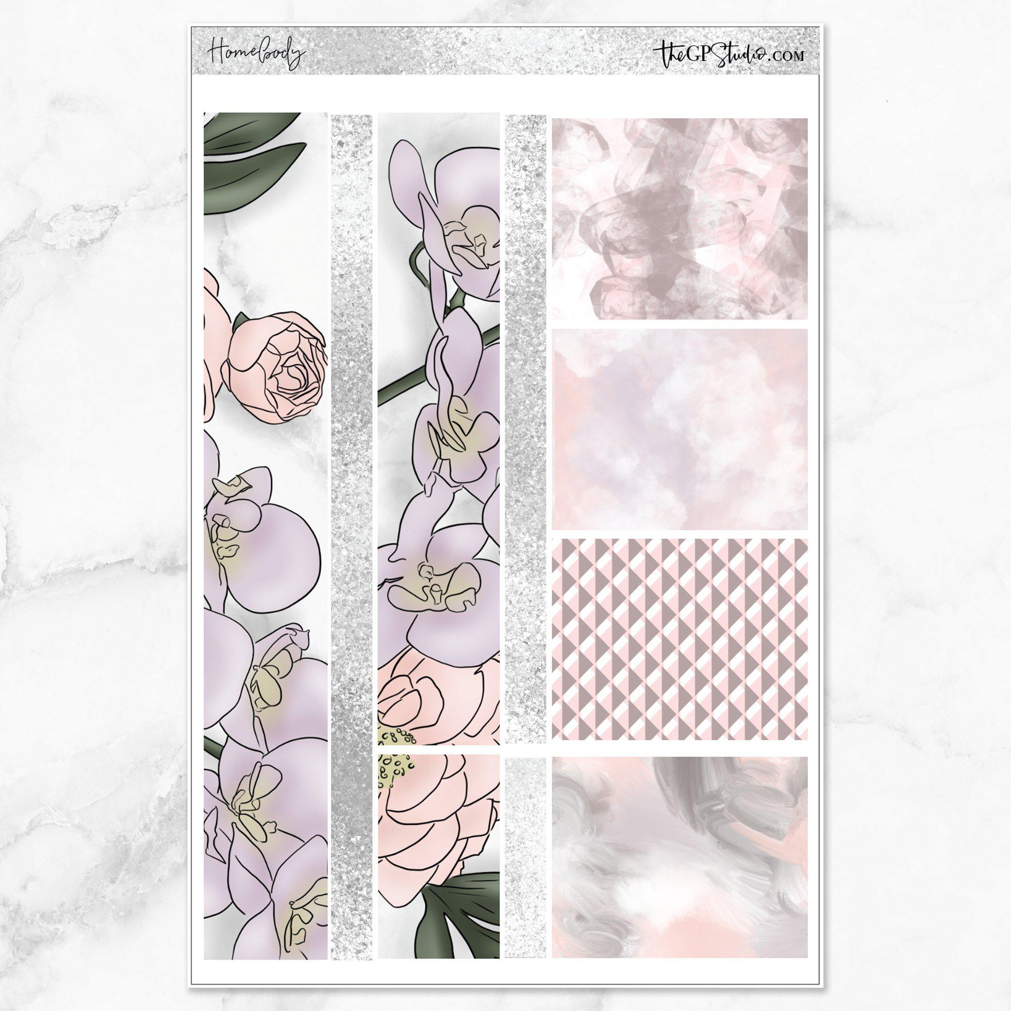 HOMEBODY Washi Sheet Stickers-The GP Studio