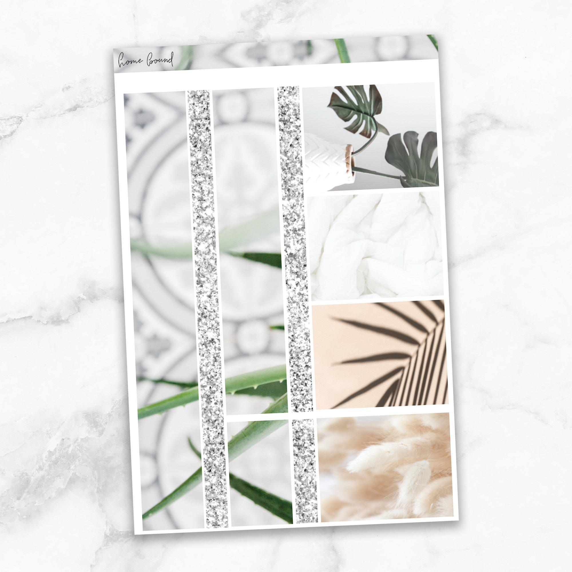 HOMEBOUND Washi Sheet Stickers-The GP Studio