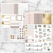 HUSTLE Planner Sticker Kit-The GP Studio