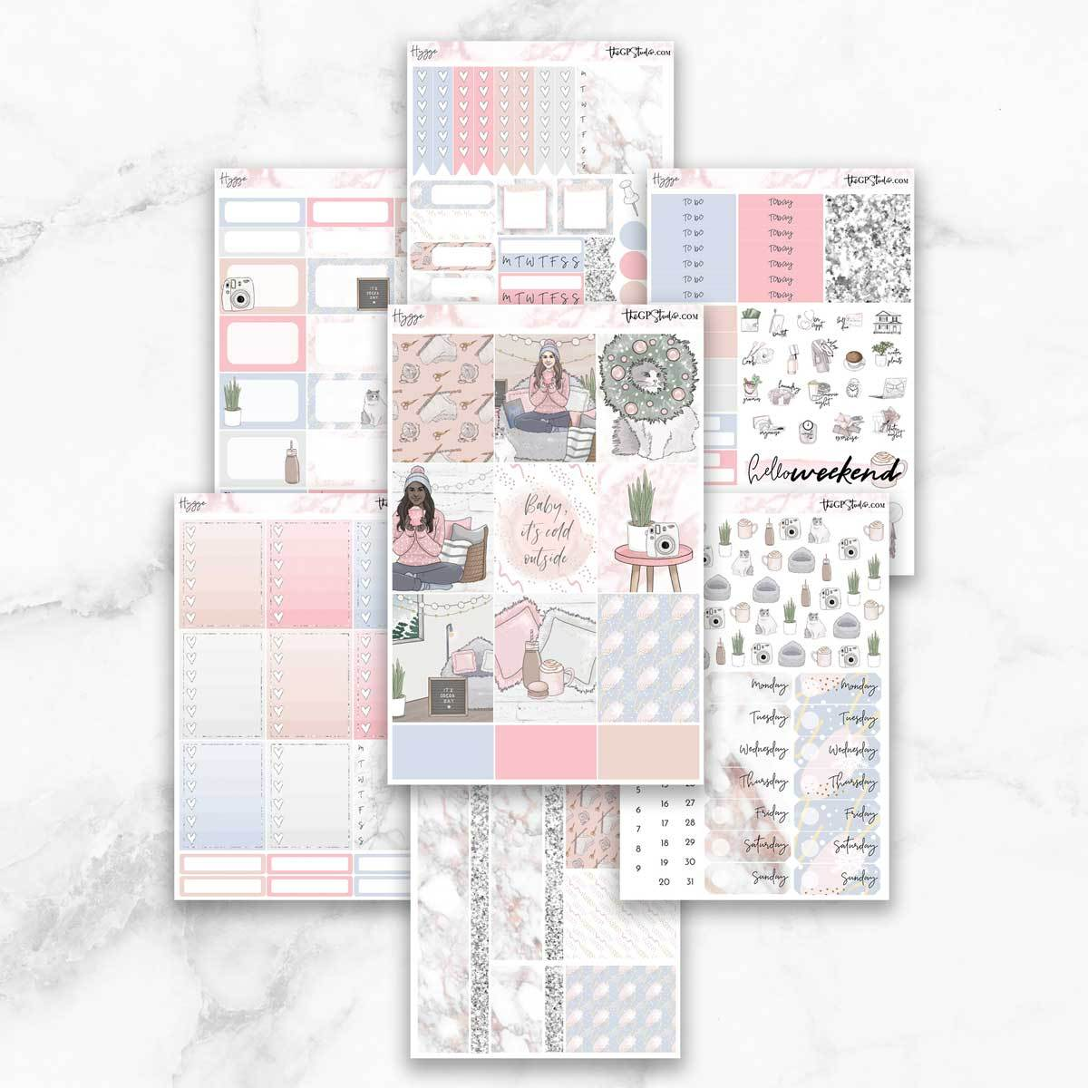HYGGE Planner Sticker Kit-The GP Studio