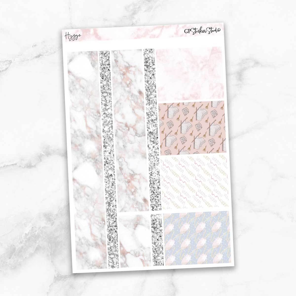 HYGGE Washi Sheet Stickers-The GP Studio