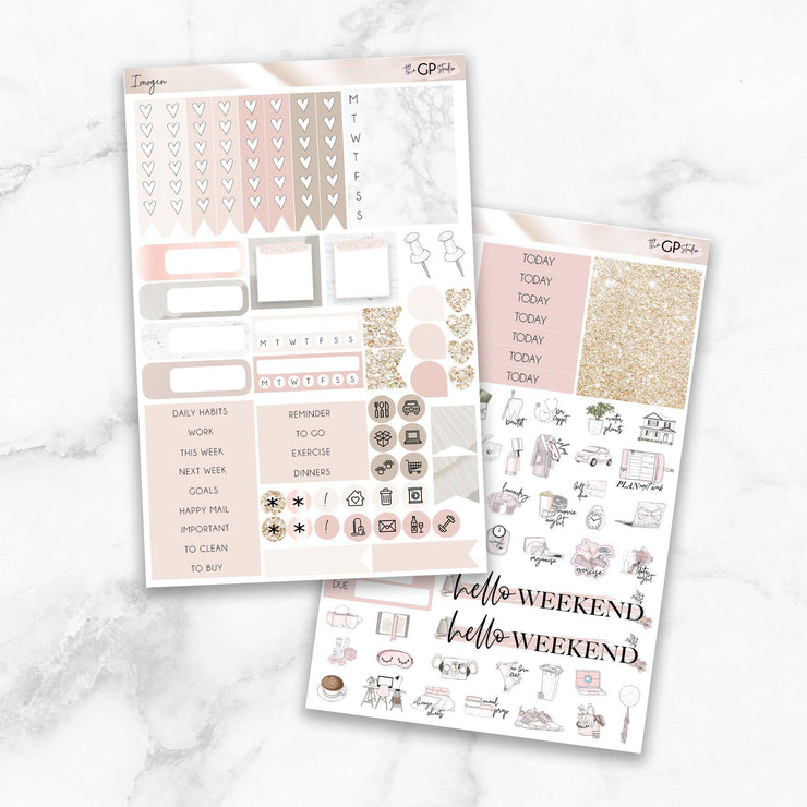 IMOGEN Functional Planner Sticker Kit-The GP Studio